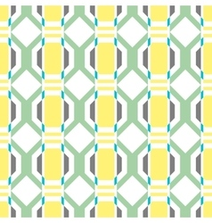 Seamless geometric pattern background vector image vector image