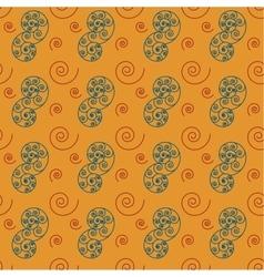 Spiral big seamless pattern vector