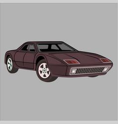 Sport car ferrari 512 vector