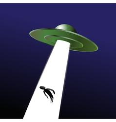 UFO abduction vector