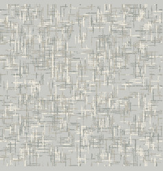 Unbleached gray french linen texture background vector