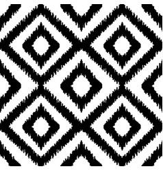 ethnic squared seamless pattern vector image vector image