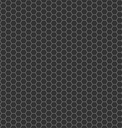 black cell comb seamless pattern vector image