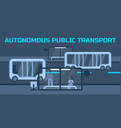 Autonomous public transport vector