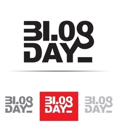 Blog Day Sign vector image