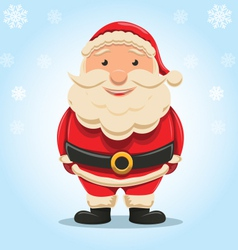 Christmas Santa Claus isolated vector image