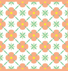 colorful simple trellises seamless pattern vector image