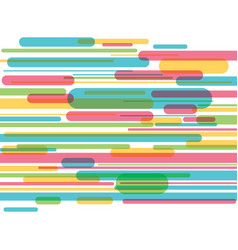 colorful stripes background vector image