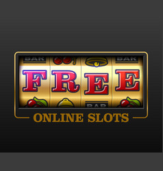 free online slots slot machine games banner vector image