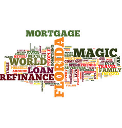 live happily ever after with mortgage loan vector image