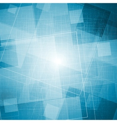 Bright blue grunge texture vector image vector image