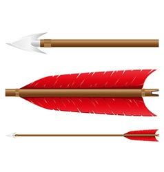 Arrow for bow vector