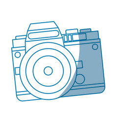 camera technology photo travel equipment vector image vector image