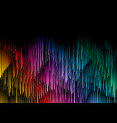 Abstract design background in rainbow colours vector
