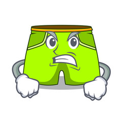 Angry cartoon shorts style for the swimming vector