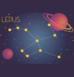 Constellation lepus vector
