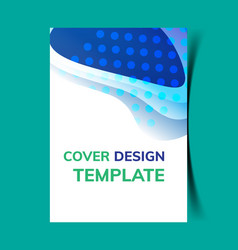 cover design template11 vector image