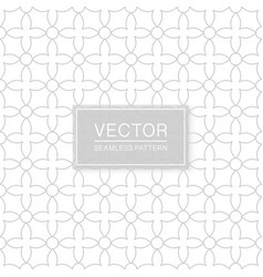 decorative seamless stylish pattern - simple vector image