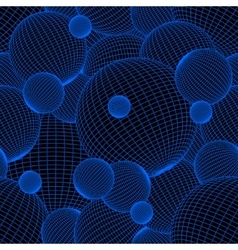 Diskoball background pattern abstract vector image