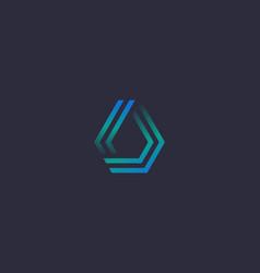 linear gradient water aqua logo design premium vector image