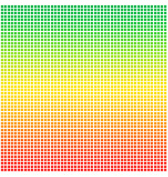 Rasta color flag dotted pixel vector