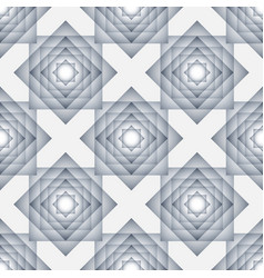 seamless pattern with overlapping rectangles vector image
