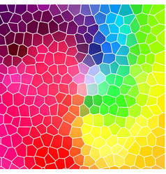 stained-glass window abstract background vector image