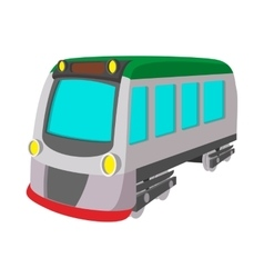 Train locomotive transportation railway icon vector