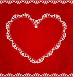 valentines card06 vector image vector image