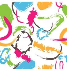 splatter paint pattern vector image vector image