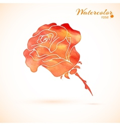 Background of flowers rose vector
