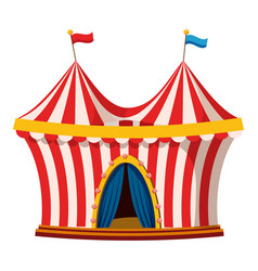 Circus icon cartoon style vector