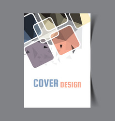 cover design template13 vector image