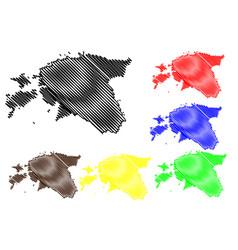 estonia map vector image