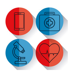 medical equipment design vector image
