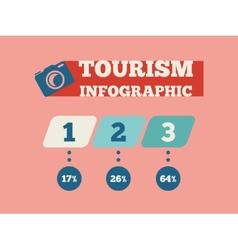 Travel infographic element vector