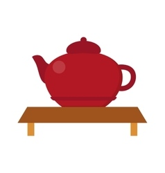 Chinese tea symbols vector image