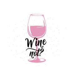Drink related typographic vector