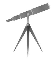 telescope vector image
