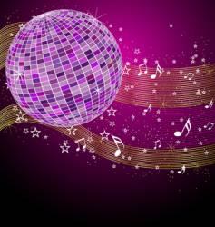 Disco tunes vector