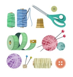 Tools and materials for vector image vector image