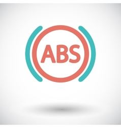 ABS flat single color icon vector image