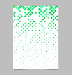 abstract diagonal square mosaic pattern brochure vector image