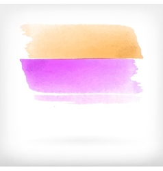 abstract watercolor brush design elements vector image