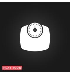 Bathroom flat icon vector image