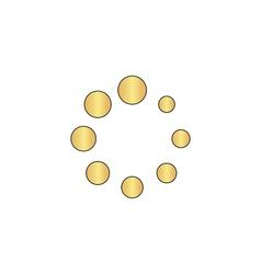 buffering computer symbol vector image