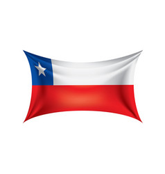 Chile flag vector