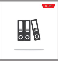 Folder icon folder symbols file document vector