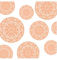 pattern of circular pink vector image