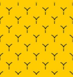 Zipper with lock pattern vector